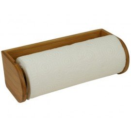 BAMBOO MARINE Support bois bamboo papier essuie-tout
