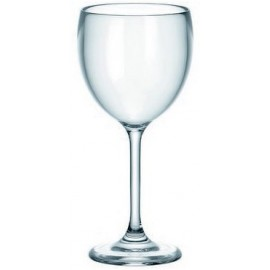 "Guzzini 12 Verres à vin plastique ""HAPPY HOUR"""