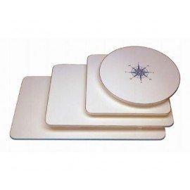 TREM Plateau de table carré 60x60cm