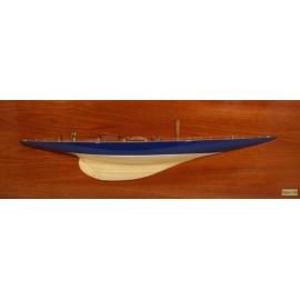 """DEMI COQUE """" half hull enveavour""""   75 cm"""