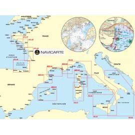 Cartes marines Chartkit ITA-03 Zone Tyrrhenienne