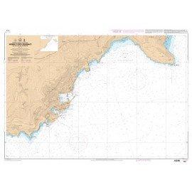 SHOM  L 7441 Abords et Ports de Monaco - Du Cap d'Ail au Cap Martin