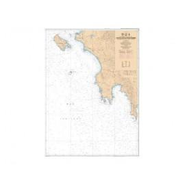 SHOM L7195 Ouest Peloponnèse - De Nísos Zákinthos à Ákra Taínaro