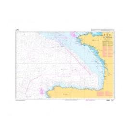 SHOM L7211 Golfe de Gascogne - de Brest à Cabo Finisterre