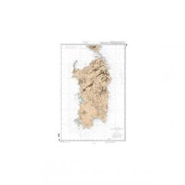 SHOM L 3675 Ile de Sardaigne
