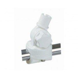 GLOMEX RA134 Embase à rotule nylon pour balcon 1 axe
