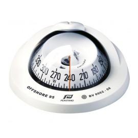 PLASTIMO Compas Offshore 95 blanc rose conique blanche à encastrer