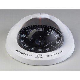 LASTIMO Compas Offshore 95 blanc rose plate noire à encastrer