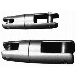 Jonction d'ancre inox sur émerillon 6-8 mm