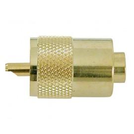 Connecteur VHF male PL259 pour câble 5mm