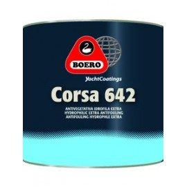 Antifouling Boero semi érodable noir 0.75L