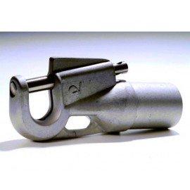 Embout de tangon tube Ø50x2.5