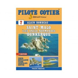 PILOTE COTIER N°7 - St Malo - Dunkerque - Iles anglo.
