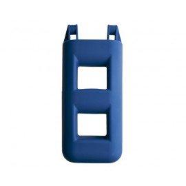 MAJONI Pare-battage échelle 2 marches bleu ou gris