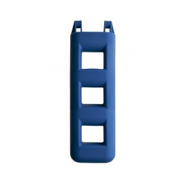 MAJONI Pare-battage échelle 3 marches bleu ou gris