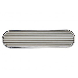 VETUS Grille aspiration moteur cadre inox grille alu