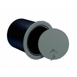 NUOVA RADE Trappe de visite grise Ø235mm avec coffre