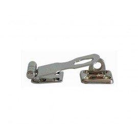 Charnière à cadenas + anneau pivotant 64x24mm