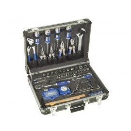IRIMO Malette à outils aluminium 98 pièces