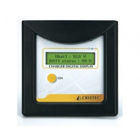 CRISTEC Moniteur numerique pour chargeur de batterie CPS2 et CPS3