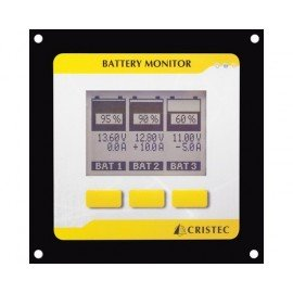 CRISTEC Moniteur jauge de batteries numérique version II