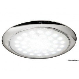 Eclairage LED ultraplate Inox avec interrupteur sensitif