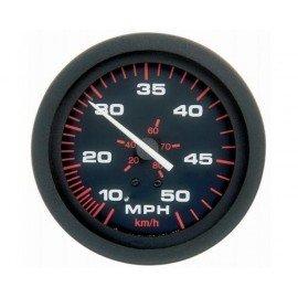 Amega Speedomètre 0-35 mph noir