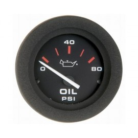 Amega Manometre huile pour moteur us noir