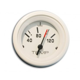 Indicateur temperature eau type vdo blanc