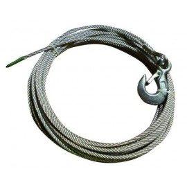 GOLIATH Câble acier avec crochet - 10m