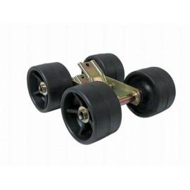 Galet ø120mm avec balancier quadruple