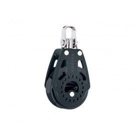HARKEN Poulie winch simple manille Carbo ø réa 40mm ø cord 10mm
