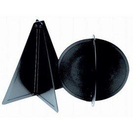 boule ou cône de mouillage noir