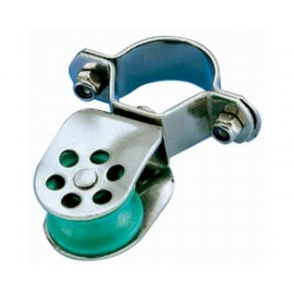 WICHARD Poulie simple inox ø réa 25 cord 8/10mm pour chandelier ø25