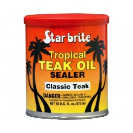 STAR BRITE Protection de teck Tropical Teak oil Classic Teak 473 ml