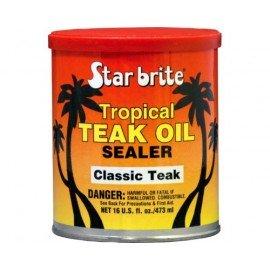 STAR BRITE Protection de teck Tropical Teak oil Classic Teak 473 ml