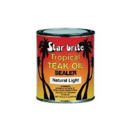TAR BRITE Protection de teck Tropical Teak oil Natural light 473ml