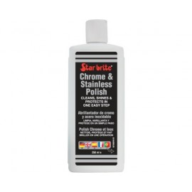 STAR BRITE Polish chrome et inox 237ml