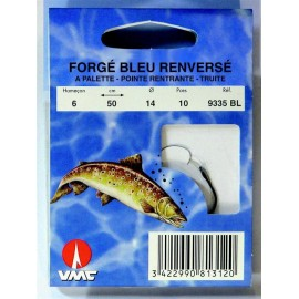 Hamecon Forgé bleu renversé 9335BL 1/35