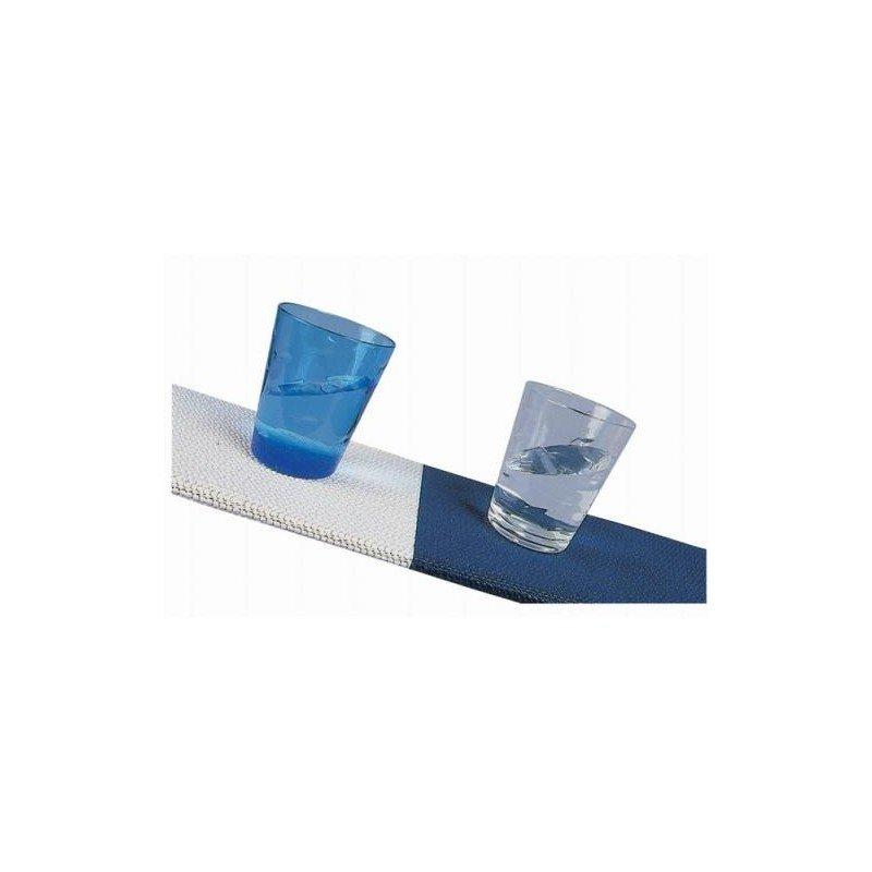 tapis antiderapant blanc ou bleu - Tapis Antiderapant