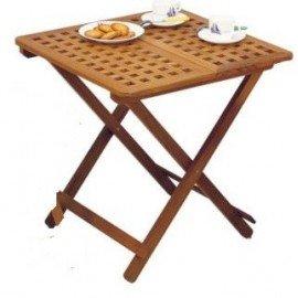 Table pliante à rallonge en teck