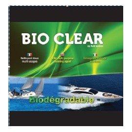 SUPER Clear 1L Nettoyant coque et pont / pare battage et pneumatique Biodégradable