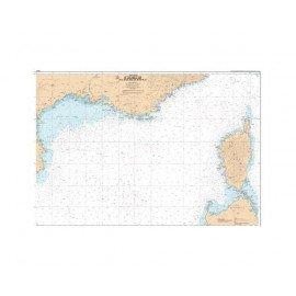 SHOM L7507 Golfe du Lion aux bouches de Bonifacio
