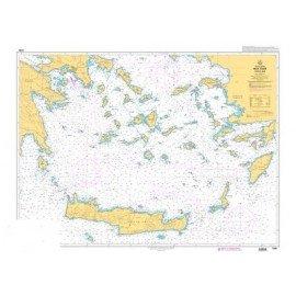 SHOM 7265L Mer Egée - Partie Sud