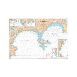 SHOM L7205 Golfe de La Napoule - Golfe Juan - Iles de Lérins - ...