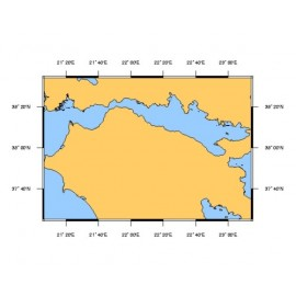 SHOM L7253 Golfe de Corinthe