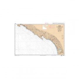 SHOM L6942 de Punta d'Orchina au Cap Muro  abords d'Ajaccio