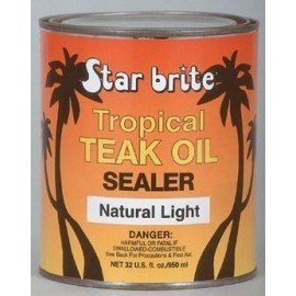 STAR BRITE Protection de teck Tropical Teak oil Natural light 473ml