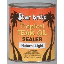 STAR BRITE Protection de teck Tropical Teak oil Natural light 473ml