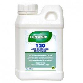 CLIN AZUR Décapant dérouillant acide pour embases 1L